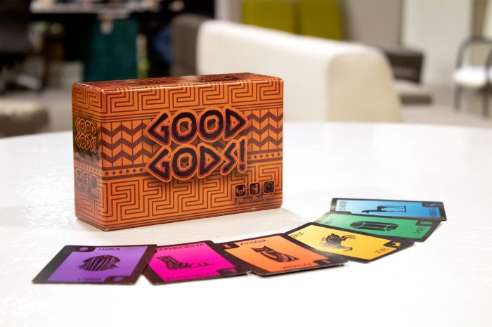 Good Gods! Now on Kickstarter – Official Press Release